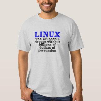 Linux. La gente del OS elige… Remeras
