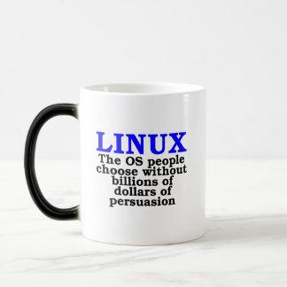 Linux. La gente del OS elige… Taza Mágica