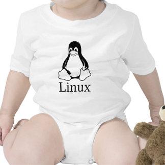 Linux Logo w/ Tux the Linux Penguin Shirts