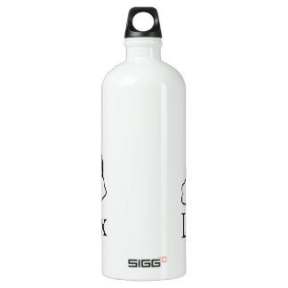 Linux Logo w/ Tux the Linux Penguin Water Bottle