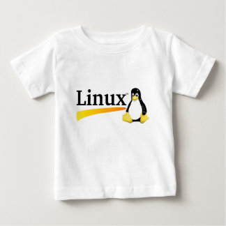 Linux Logo with Tux Products Baby T-Shirt