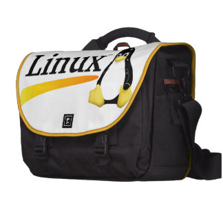 Linux Logo with Tux Products Laptop Bags