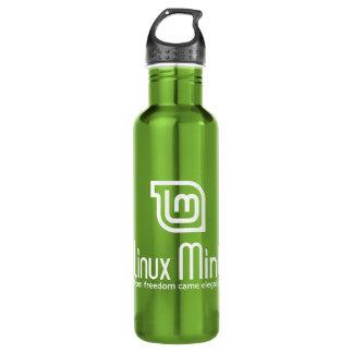 Linux Mint 24oz Water Bottle