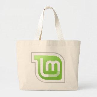 Linux Mint Canvas Bags