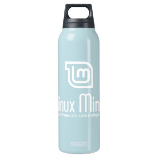 Linux Mint Insulated Water Bottle