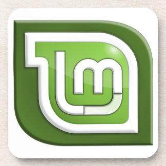 Linux Mint Logo Coaster