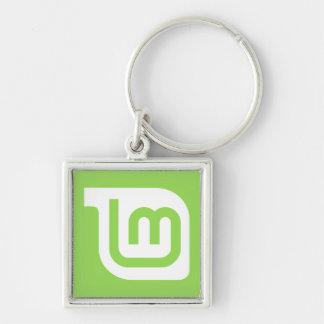 Linux Mint Logo Key Chain