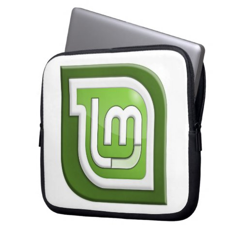 Linux Mint Logo Laptop Sleeve