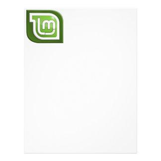 Linux Mint Logo Letterhead