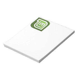 Linux Mint Logo Memo Notepad