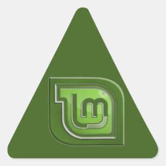 Linux Mint Logo Triangle Sticker