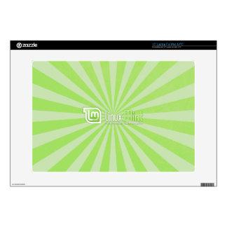 "Linux Mint Starburst 15"" Laptop Decal"