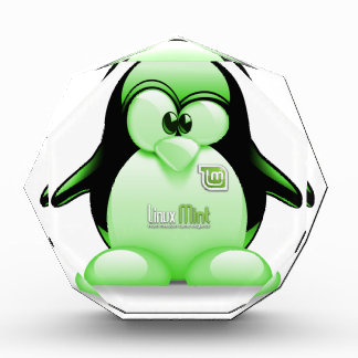 Linux Mint with Tux Logo Award