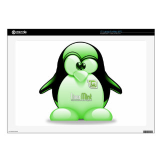 Linux Mint with Tux Logo Decal For Laptop