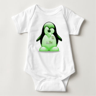 Linux Mint with Tux Logo Infant Creeper