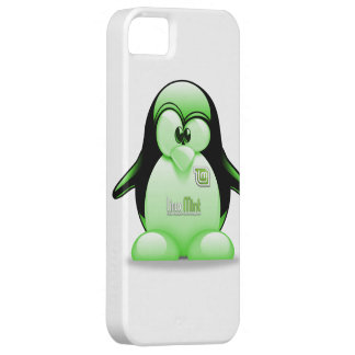 Linux Mint with Tux Logo iPhone SE/5/5s Case
