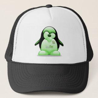 Linux Mint with Tux Logo Trucker Hat