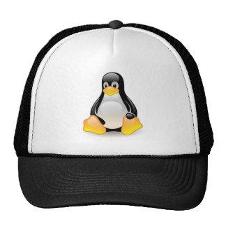 linux-penguin-tux mesh hats