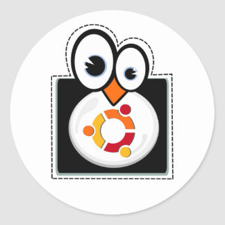 Linux Penguin Ubuntu Sticker