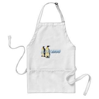 Linux Penguins Adult Apron