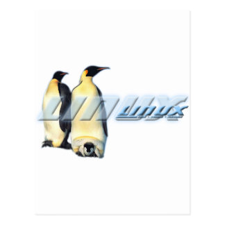 Linux Penguins Postcard