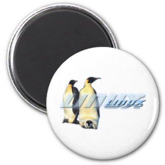 Linux Penguins Refrigerator Magnet