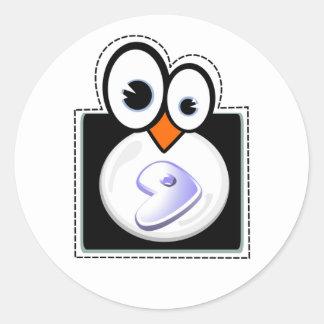 Linux Penquin Gentoo Sticker