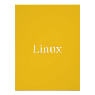 Linux Perfect Poster