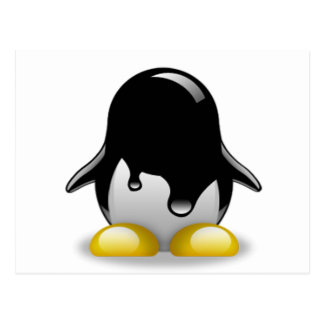 Linux Petrol Postcard