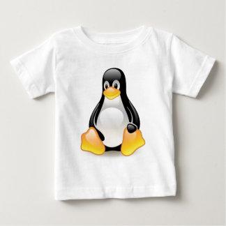 Linux-pingüino-Tux Playera