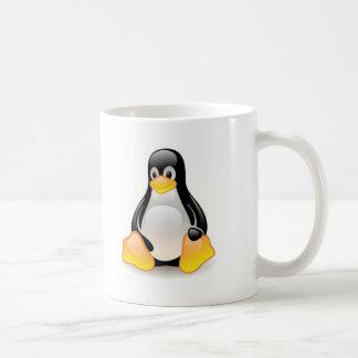 Linux-pingüino-Tux Taza De Café