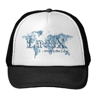 Linux por todo el mundo gorra
