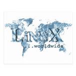 Linux por todo el mundo postal