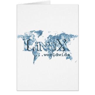 Linux por todo el mundo felicitaciones