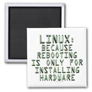 Linux: Porque la reanudación está solamente para i Imán Cuadrado