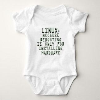 Linux: Porque la reanudación está solamente para T-shirts