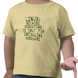 Linux: Porque la reanudación está solamente para Camiseta