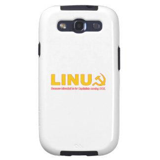 Linux porque Microsoft está para los capitalistas Galaxy S3 Coberturas