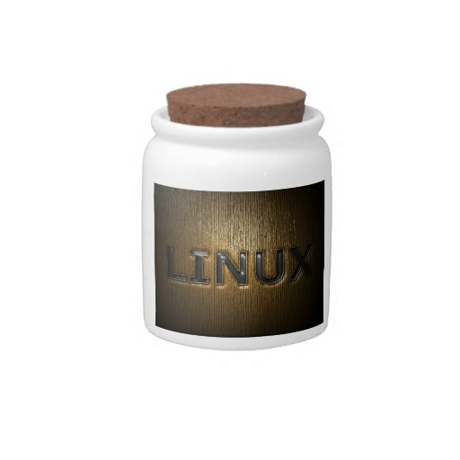 LINUX Pressed Candy Jars
