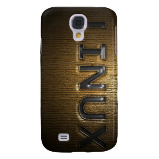 LINUX Pressed Samsung S4 Case