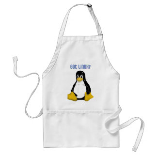 Linux Products & Designs! Adult Apron