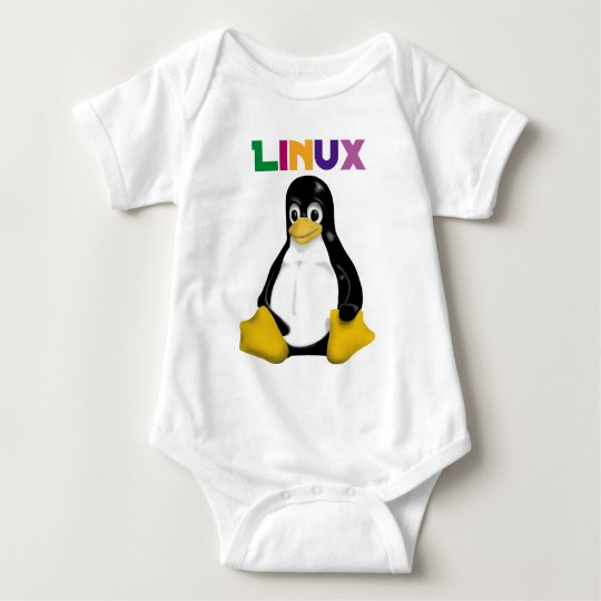 Linux Products & Designs! Baby Bodysuit