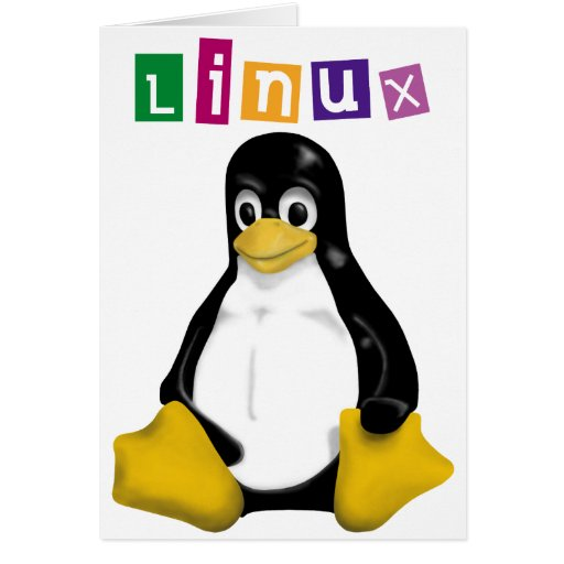 Linux Products & Designs! Card