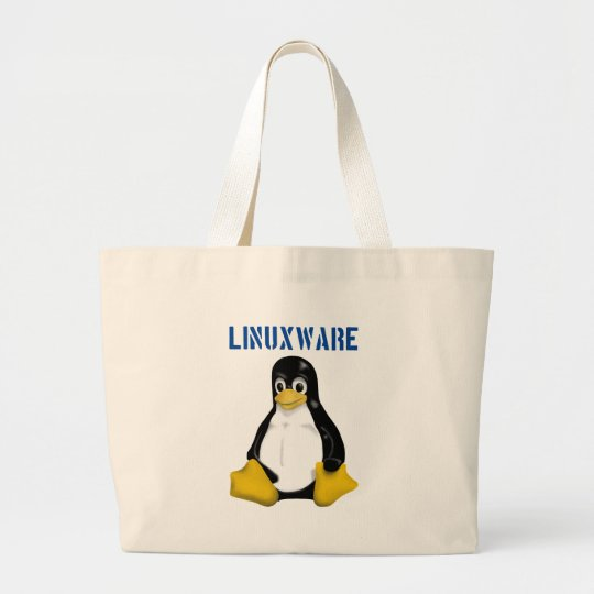 Linux Products & Designs! Large Tote Bag