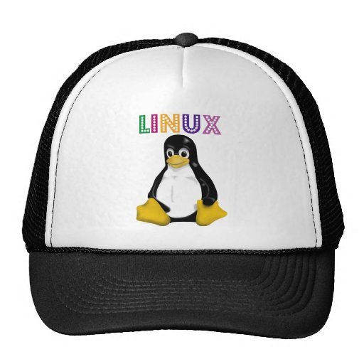 Linux Products & Designs! Mesh Hat