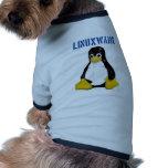 Linux Products & Designs! Pet T-shirt