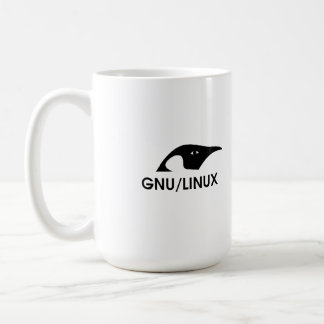 "Linux ""Real women use the command line"" coffee mug"