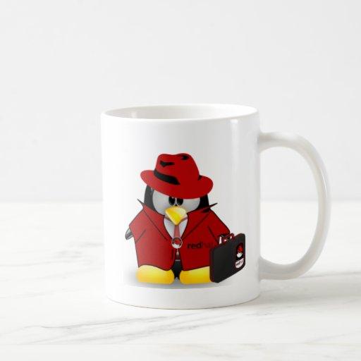 Linux Red Hat Tux Coffee Mug