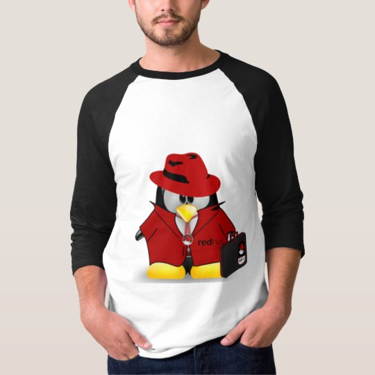 Linux Red Hat Tux T-Shirt