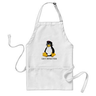 Linux Revolution Adult Apron